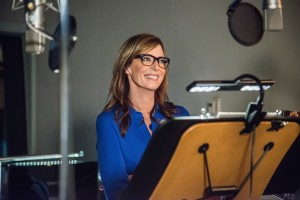 ALLISON JANNEY voices Madge Nelson, domestic villainess, in MINIONS. ©Universal Studios. CR: Suzanne Hanover.