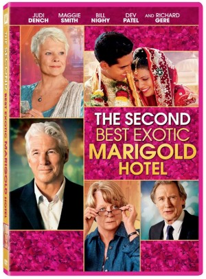 THE SECOND BEST EXOTIC MARIGOLD HOTEL. (DVD Artwork). ©20th Century Fox.