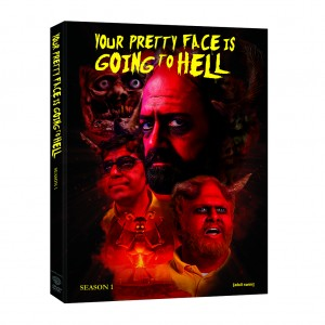 YOUR PRETTY FACE IS GOING TO HELL: SEASON 1. (DVD Artwork). ©Warner Bros. Entertainment.