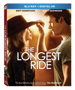 THE LONGEST RIDE. (Blu-ray/DVD Artwork). ©20th Century Fox