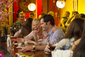 Amy (AMY SCHUMER) on a date with Aaron (BILL HADER) in TRAINWRECK. ©Universal Studios. CR: Mary Cybulski.