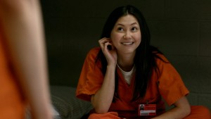 "Kimiko Glenn as Brook Soso in Netflix ""Orange is the New Black"" Season 2. ©Netflix."