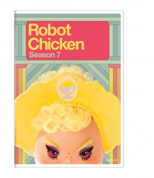 ROBOT CHICKEN: SEASON 7. (DVD Artwork). ©Warner Home Video.
