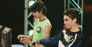 Cameron Boyce (right) stars in GAMER'S GUIDE TO PRETTY MUCH EVERYTHING. ©Disney Enterprises. CR: Ron Tom.