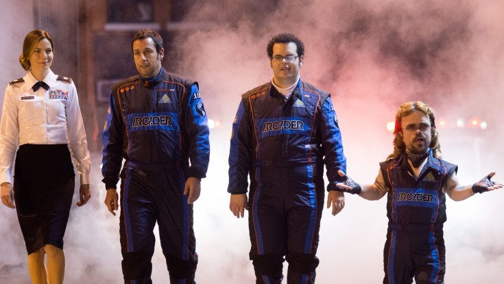 Sandler Establishes Himself as King of Kong in 'Pixels'