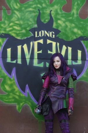 Dove Cameron stars as Mal in the DESCENDANTS . ©Disney Enterprises. CR: Jeff Weddell.