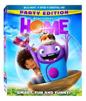 HOME. (Blu-ray/DVD Artwork). ©20th Century Fox.