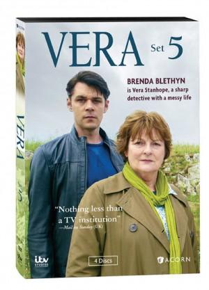 VERA SET 5 (DVD Artwork). ©Acorn/ITV.