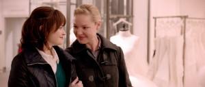 A scene from JENNY'S WEDDING starring Katherine Heigl (right). ©IFC Films.