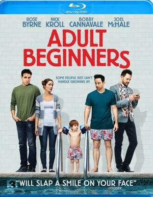 ADULT BEGINNERS. (Blu-ray/DVD Artwork). ©Anchor Bay.