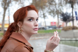 Christina Hendricks as Blanche in DRIVE. ©Icon Film Distribution. CR: Richard Foreman Jr/SMPSP