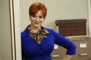 Christina Hendricks in MAD MEN. ©AMC Networks.