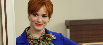 Photos: Christina Hendricks Goes from Agency to 'Dark Places'