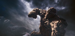 The Thing's stone body gives him epic strength and makes him virtually indestructible in FANTASTIC FOUR. ©20th Century Fox.