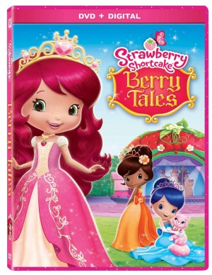 STRAWBERRY SHORTCAKE BERRY TALES. (DVD Artwork). ©20th Century Fox.