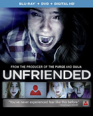 UNFRIENDED (Blu-ray/DVD Artwork). ©Universal Studios.