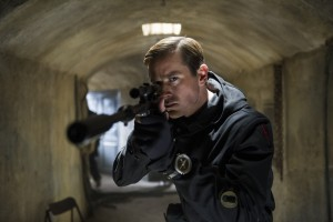 Armie Hammer stars as Illya Kuryakin in THE MAN FROM U.N.C.L.E. ©Warner Bros Entertainemnt. CR: Daniel Smith.
