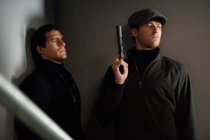 (l-r) Henry Cavill and Armie Hammer star in THE MAN FROM U.N.C.L.E. ©Warner Bros. Entertainment. CR: Daniel Smith.