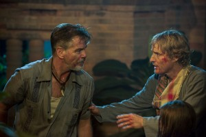 Pierce Brosnan and Owen Wilson star in NO ESCAPE. ©The Weinstein Company. CR: Roland Neveu.