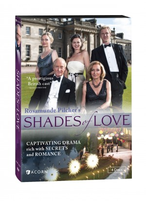 ROSAMUNDE PILCHER'S SHADES OF LOVE. (DVD Artwork). ©Acorn.