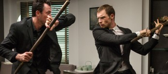 Former 'Thrones' Star Ed Skrein Takes 'Transporter' for a Spin