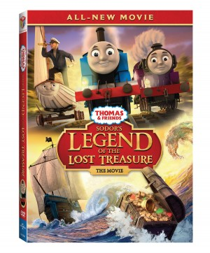 THOMAS & FRIENDS: SODOR'S LEGEND OF THE LOST TREASURE THE MOVIE. ©Universal Studios.