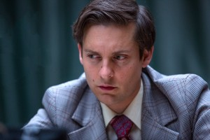 Tobey Maguire stars as Bobby Fischer in Edward Zwick's PAWN SACRIFICE. ©Bleecker Street.