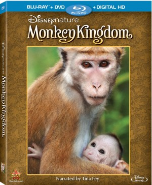 DISNEY NATURE MONKEY KINGDOM. (DVD Artwork). ©Disney.