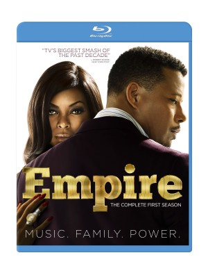 EMPIRE: THE COMPLETE FIRST SEASON. (DVD Artwork). ©20th Century Home Entertainment.