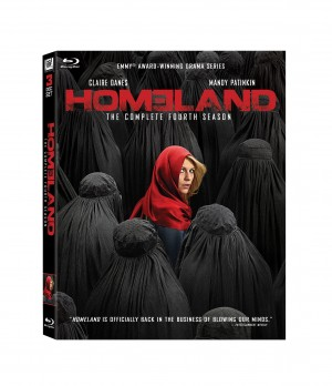 HOMELAND: THE COMPLETE FOURTH SEASON. (DVD Artwork). ©20th Century Fox Home Entertainment.
