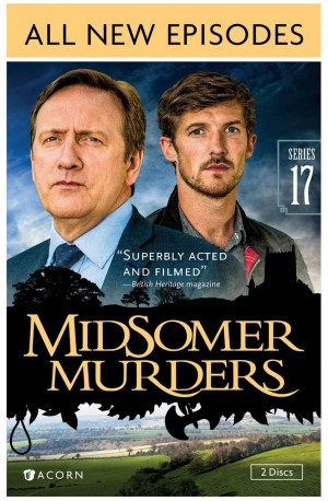 MIDSOMERS MURDERS: SERIES 17. (DVD Artwork). ©Acorn.