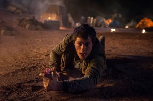 Thomas (Dylan O'Brien) is about to make some major noise in MAZE RUNNER: THE SCORCH TRIALS. ©20th Century Fox. CR:Richard Foreman, Jr. SMPSP.