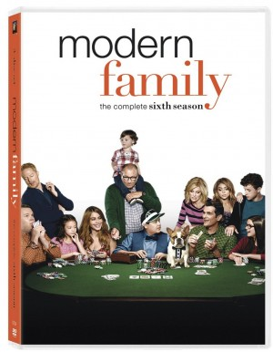 MODERN FAMILY: THE COMPLETE SIXTH SEASON. (DVD Artwork). ©20th Century Fox.