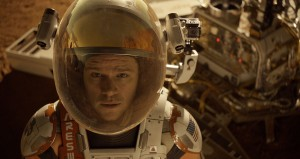 Astronaut Mark Watney (Matt Damon) finds himself stranded and alone on Mars, in THE MARTIAN. ©20th Century Fox.