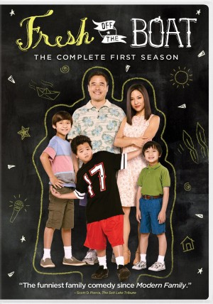 FRESH OFF THE BOAT: THE COMPLETE FIRST SEASON. (DVD Artwork). ©ABC.