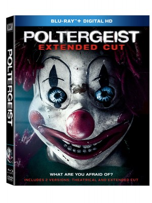 POLTERGEIST: EXTENDED CUT. (DVD Artwork).©20th Century Fox.