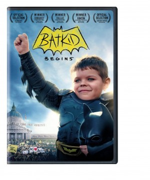 BATKID BEGINS. (DVD Artwork). ©New Line Home Entertainment.