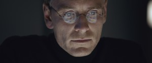 MICHAEL FASSBENDER portrays the pioneering founder of Apple in STEVE JOBS. ©Universal Studios.