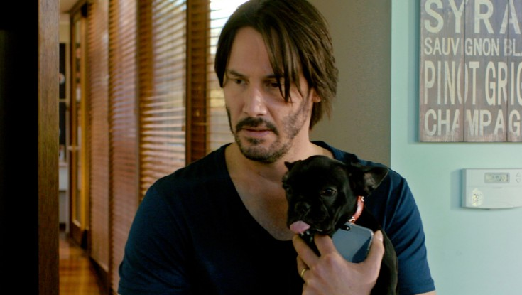 Photos: Keanu Reeves on Stranger Danger