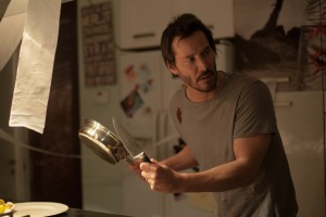 Keanu Reeves stars as Evan in KNOCK KNOCK. ©Lionsgate Entertainment.