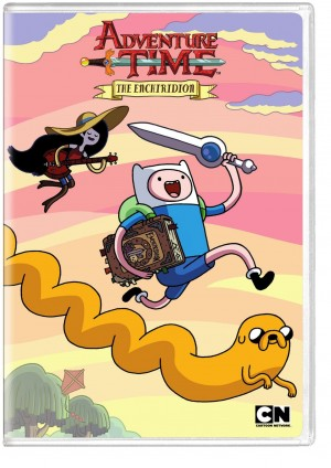 ADVENTURE TIME: THE ENCHIRIDION. (DVD Artwork). ©Cartoon Network.