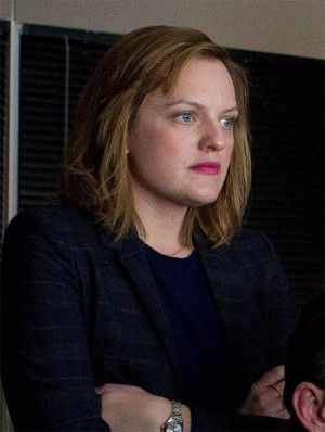 Elisabeth Moss as Lucy Scott in TRUTH. ©RatPac Truth LLC / Sony Pictures. CR: Lisa Tomasetti.