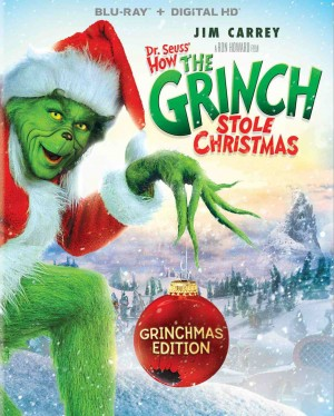 HOW THE GRINCH STOLE CHRISTMAS: GRINCHMAS EDITION. (DVD Artwork). ©Universal Studios.