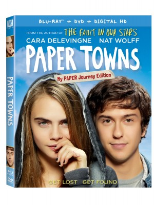 PAPER TOWNS. (DVD Artwork). ©20th Century Fox.