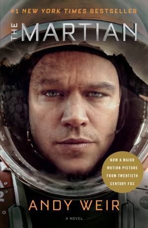 THE MARTIAN by Andy Weir. (Book Cover). ©Random House.