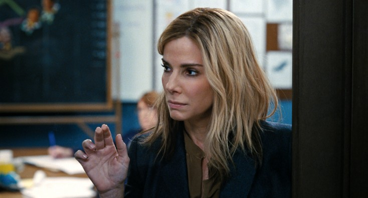 Photos: Sandra Bullock Rides a Bus, Gets Political in 'Crisis'