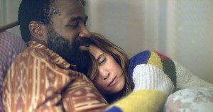 (l-r) Tunde Adebimpe and Kristen Wiig star in NASTY BABY. ©The Orchard.