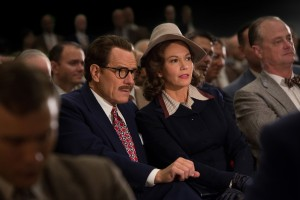 Bryan Cranston (left) stars as Dalton Trumbo and Diane Lane (right) stars as Cleo Trumbo in Jay Roach's TRUMBO. ©Bleecker Street. CR: Hilary Bronwyn Gail/Bleecker Street.