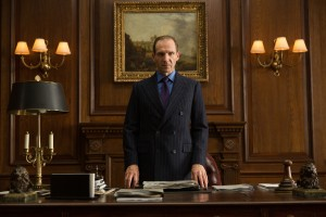 Ralph Fiennes in Metro-Goldwyn-Mayer Pictures/Columbia Pictures/EON Productions' action adventure SPECTRE. ©MGM Studios, Danjaq LLC and Columbia Pictures. CR: Francois Duhamel.