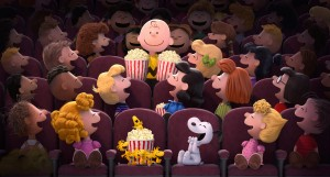 Charlie Brown, Snoopy and the rest of the Peanuts gang are looking forward to their all-new CGI motion picture THE PEANUTS MOVIE. ©20th Century Fox / Peanuts Worldwide LLC.